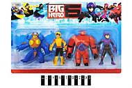 Набор героев «Big Hero 6», YLJ2689B, фото