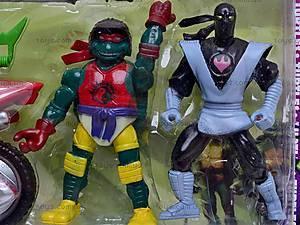 Набор героев «Черепашки ниндзя», 09006, фото