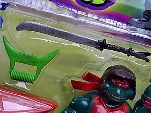 Набор героев «Черепашки ниндзя», 09006, игрушки