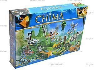 Набор героев «Chima» на чимациклах, M7001-9