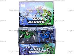 Набор героев для детей, 2012-34, игрушки