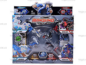 Набор героев для игры в Monsuno, ZS826-1, игрушки