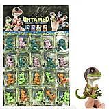 Набор героев «Динозавры» на картонном планшете, LY0550, купить