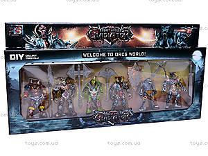 Набор героев «Гладиатор», 8910-43, игрушки