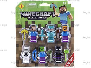 Набор героев Minecraft, 8908, отзывы