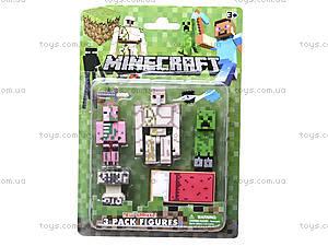 Набор героев Minecraft, 3 штуки, 14140, купить