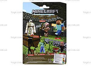 Набор героев Minecraft, 3 штуки, 14140, фото
