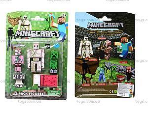 Набор героев Minecraft, 3 штуки, 14140