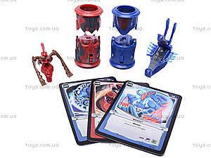 Набор героев Monsuno с карточками, ZS827, фото