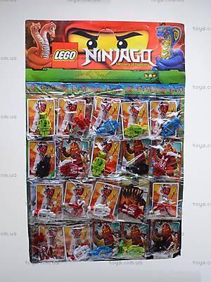 Набор героев «Ниндзя», с карточками, 06207