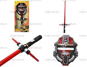 Набор героя «Space Warrior» с мечом и маской, 868-23A
