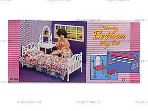 Набор Gloria «Мебель для спальни», 9314, фото