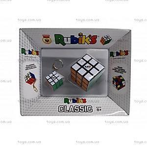 Набор головоломок 3*3 RUBIK'S КУБИК И МИНИ-КУБИК с кольцом, RK-000319