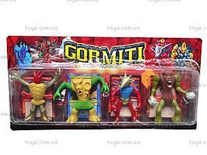 Набор Gormiti, 4 героя, 12804