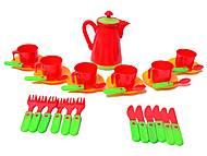 Набор игровой посуды, 04-419, отзывы
