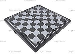 Набор игровой «Шахматы, шашки, нарды», 11222M, фото