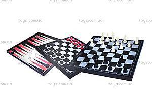 Набор игровой «Шахматы, шашки, нарды», 11222M, отзывы