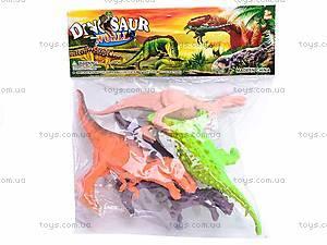 Набор игровых фигурок «Динозавры», K141, фото