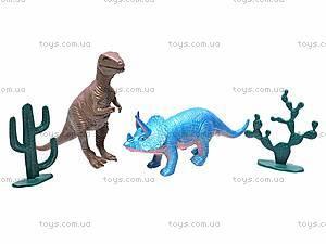 Набор игровых животных «Динозавры», 282, фото