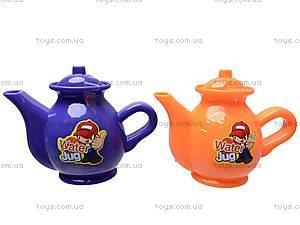 Набор игрушечной посуды с чайником, 082-1, фото