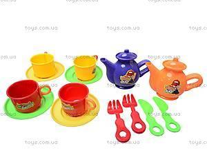 Набор игрушечной посуды с чайником, 082-1, отзывы