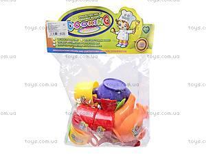 Набор игрушечной посуды с чайником, 082-1