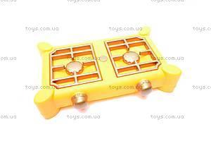 Набор игрушечной посуды, с плитой, , купить
