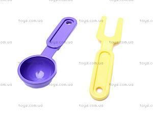 Набор игрушечной посуды, с плитой, , фото