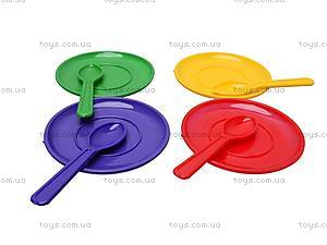 Набор игрушечной посуды с подносом, Юника, отзывы