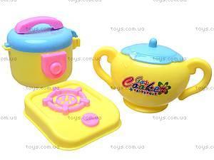 Набор игрушечной посуды с пупсиком, ZD0983-16, отзывы