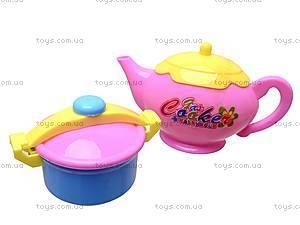Набор игрушечной посуды с пупсиком, ZD0983-16, цена