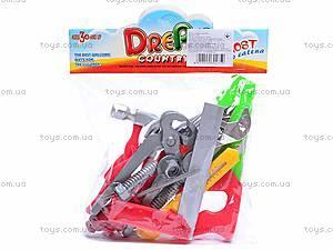 Набор игрушечных детских инструментов, 136, игрушки