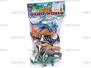 Набор игрушечных динозавров, 283, фото