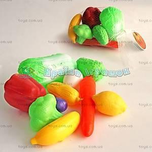 Набор игрушечных фруктов и овощей, 5011