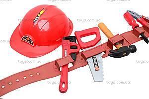 Набор игрушечных инструментов с каской, T111, купить