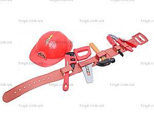 Набор игрушечных инструментов с каской, T111, фото