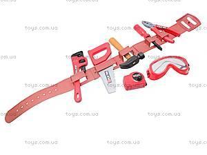 Набор игрушечных инструментов с каской, T111, игрушки
