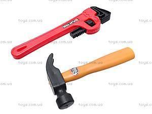 Набор игрушечных инструментов с каской, T111, детские игрушки