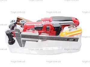 Набор игрушечных инструментов в чемодане, 7913A, купить