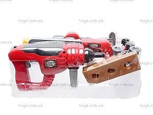 Набор игрушечных инструментов в чемодане, 7913A, фото