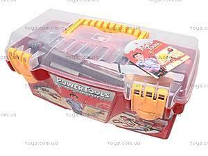 Набор игрушечных инструментов в чемодане, 7913A