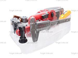 Набор игрушечных инструментов в чемодане, 7913A, отзывы