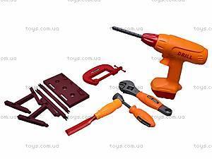 Набор игрушечных инструментов в саквояже, 2121