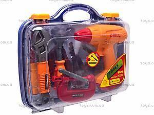Набор игрушечных инструментов в саквояже, 2121, игрушки