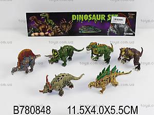 Набор игрушечных животных «Динозавры», 5898-47