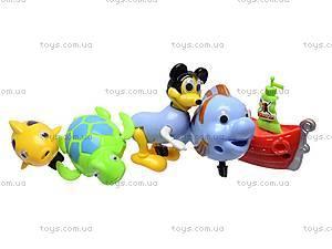 Набор игрушечных животных для ванной, 9ABC-10A, отзывы