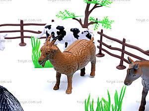 Набор игрушечных животных «Ферма», 8301, игрушки