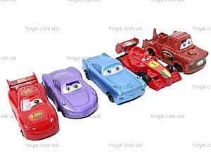 Набор игрушечных машин «Тачки», 9831, фото