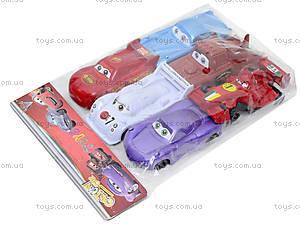 Набор игрушечных машин «Тачки», 9831, игрушки