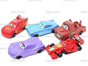 Набор игрушечных машин «Тачки», 9831, детские игрушки